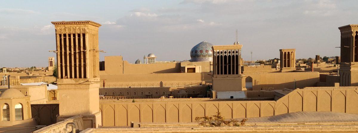 Yazd is de stad van de ROZENOLIE